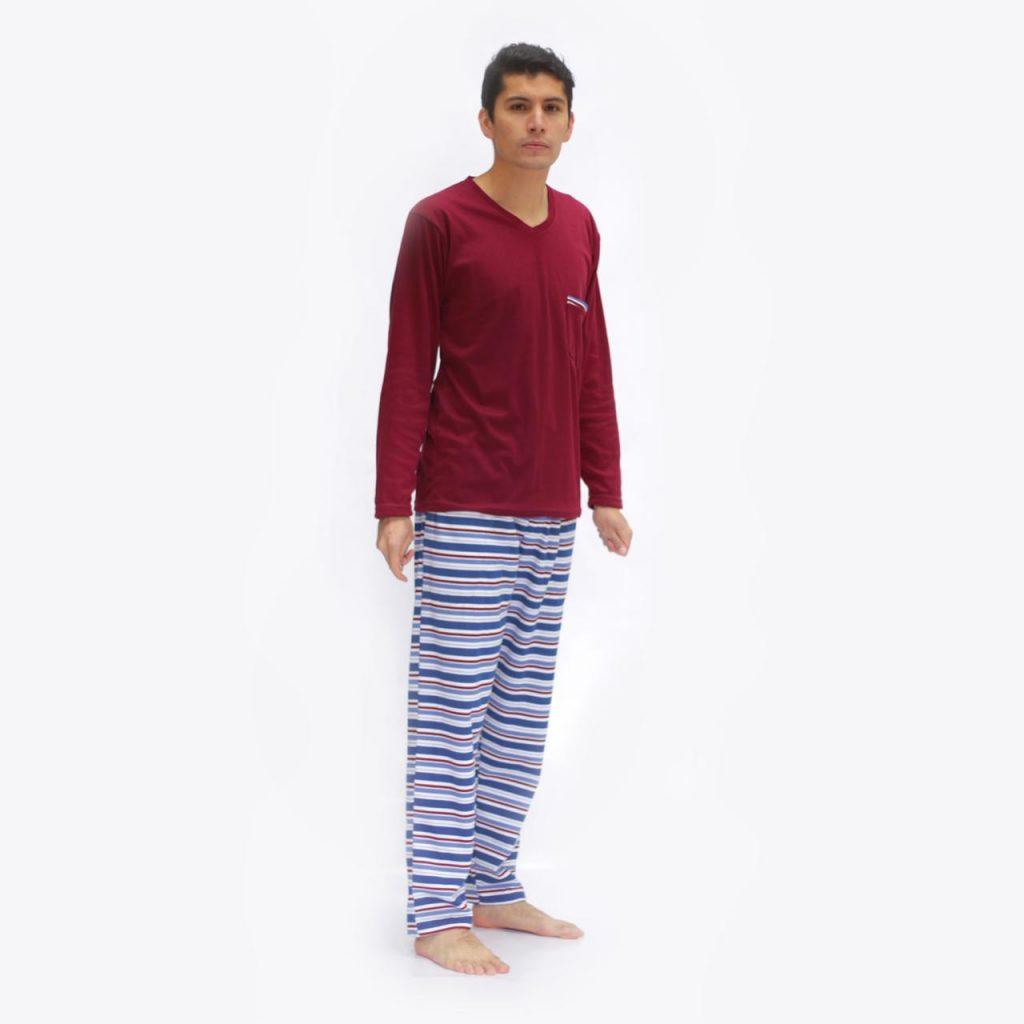 Pijama Para Hombre manga larga