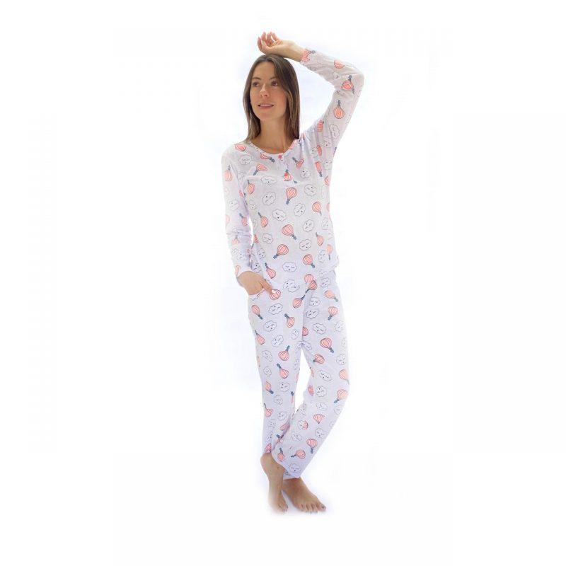 Pijama mujer pantalón largo