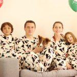 Pijamada en familia